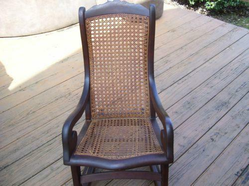 Rattan Rocking Chair Ebay