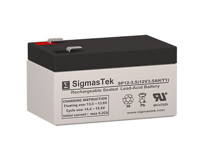 Imed Pc - IMED Gemini PC-4 Pump Replacement SLA Battery by SigmasTek