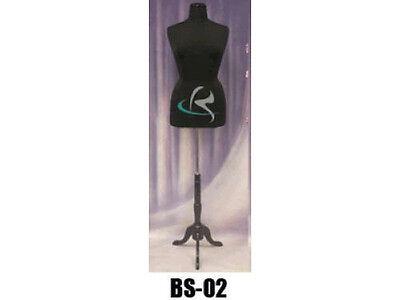 Female Size 14-16 Mannequin Manequin Manikin Dress Form F1416bkbs-02bkx