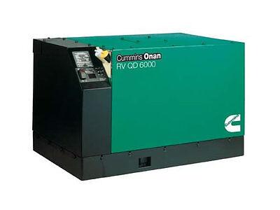 Brand New Cummins Onan 6.0 Hdkah-1044 Diesel Generator Rv Qd 6000 Quiet 6kw