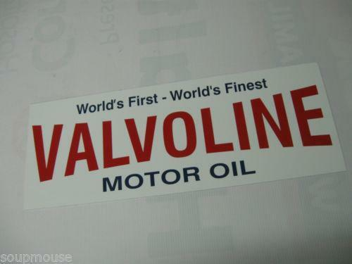 Valvoline Sign Ebay