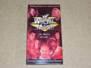 WWF WRESTLEMANIA 15 PPV, VHS, EXCELLENT CONDITION, WWE