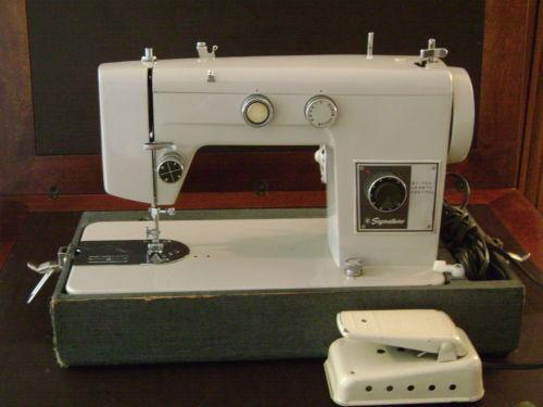 Signature Sewing Machine EBay Stunning Montgomery Ward Sewing Machine Manual