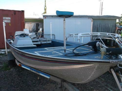 Used aluminum boats ebay for Fishing jobs near me