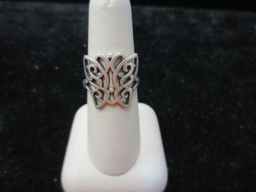 James Avery Butterfly Ring Ebay