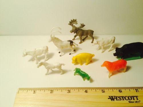 Plastic Animals Ebay