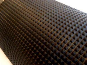 Running Board Rubber Mat / Matting 3' Wide Pyramid Pattern High Quality Durable
