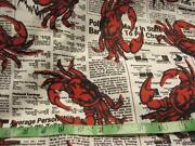 Crab Fabric