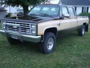 Looking for squarebody crewcab parts
