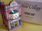 Dept 56 Snow Village Antique Shop