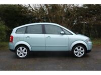 Audi A2 2002 for sale. Light damage to driver's side mirror. Good Condition