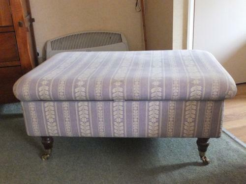 Upholstered Footstool Ebay