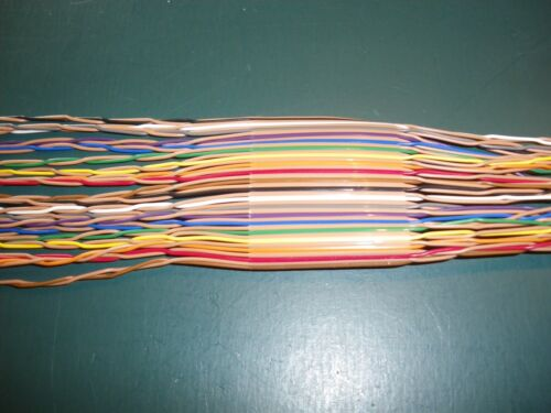 40 conductor twisted pair ribbon cable (10ft lengths)