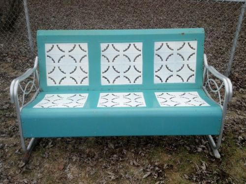 Vintage Glider Patio Amp Garden Furniture Ebay