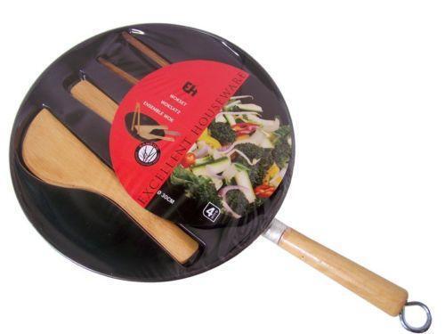 wok set ebay. Black Bedroom Furniture Sets. Home Design Ideas