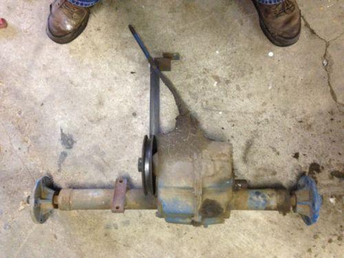 Lawn Mower Axle Brake : Lawn mower rear axle ebay