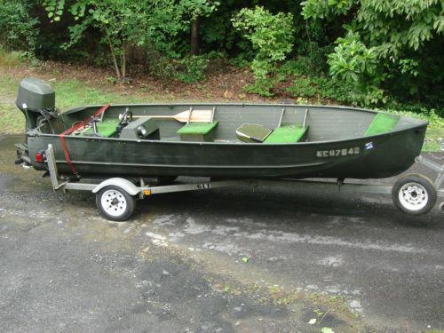 Used Aluminum Boats