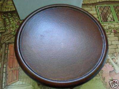 AG ANGELINA BALLERINA DARK BROWN WOOD PEDESTAL TABLE USED NEAR MINT GINNY DOLLS