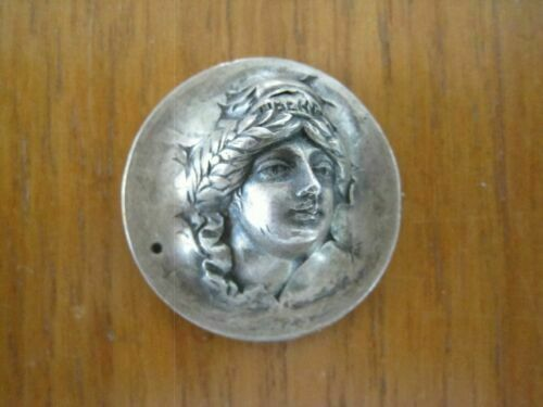 1923s Liberty head POP OUT REPOUSSE Coin on silver Half Dollar