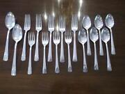 Antique Silver Plated Spoons