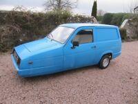 Reliant Rialto Van 1994 only 41,000 miles current MOT NOW £895~ NICE REG NUMBER.~ CLASSIC VAN