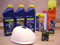 New YZ 85 03-17 Motocross Service Prep Kit Air Filter Oil Coolant Plug MX5