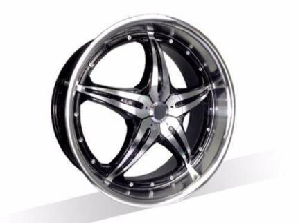 1X18 INCH New Wheels suits Commodore,Falcon,BMW3,AURION,ACCORD,