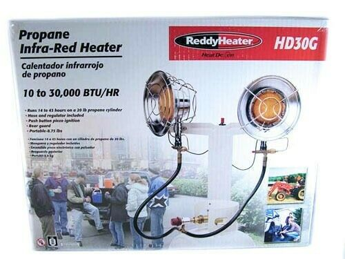 Reddy Heater Heat Demon 30,000 BTU Propane Tank-Top Radiant
