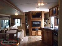2014 Sunset Trail Reserve ST32BH Travel Trailer