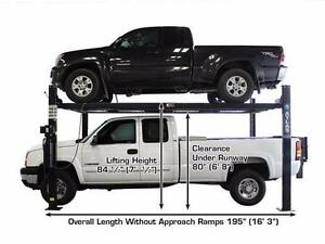 Atlas Garage Pro 8000 EXT-L 4 Post Lift Extra Tall, Extra Long