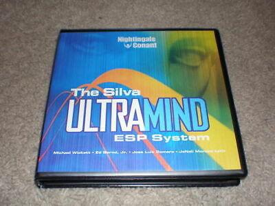 Silva ULTRAMIND ESP System (10 CD Set With Workbook CD)