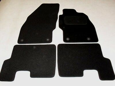 Car Parts - Vauxhall Corsa D 2006-2014 Fully Tailored Car Mats in Black