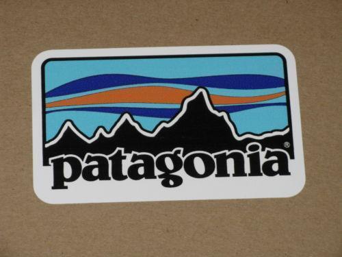 Patagonia sticker ebay for Patagonia fish sticker