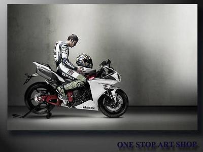 MotoGP canvas print