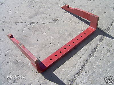 Farmall 300 340 350 400 450 460 560 656 706 756 806 856 1206 Fast Hitch Drawbar