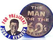 Kennedy for President Button