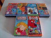 Blues Clues VHS