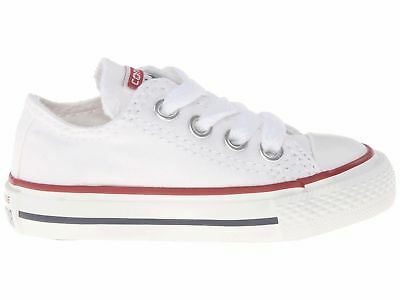 Toddler Converse Chuck Taylor All Star core ox 7J256 100% Sneaker Optic White
