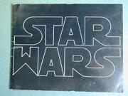 Star Wars 1977 Program