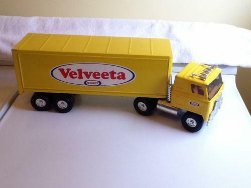 Semi Truck That S Also A Toy Car Holder : Vintage semi toy truck ebay