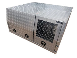 2400 Jack off Canopy with Dog Box - Checker or Flat $40p/w Garbutt Townsville City Preview