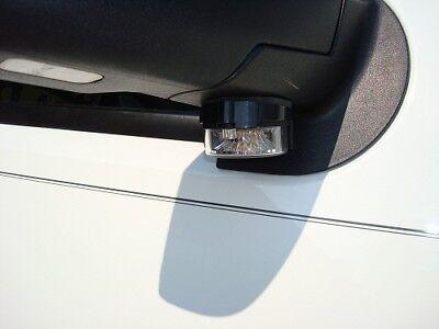 New Pair 2 Amber Soundoff Signal Intersector Under Mirror Led Light Ent2b3a