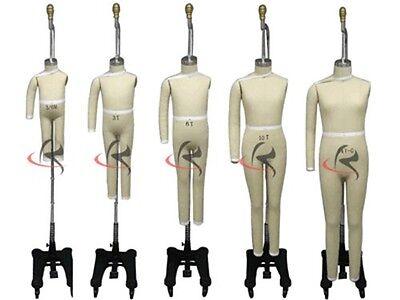 3-6 Month Professional Pro Children Working Dress Form Mannequin Size 3m6m