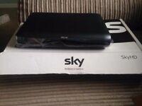 SKY HD SLIMLINE BOX DRX595 3D READY MULTI-ROOM FREEVIEW FREESAT