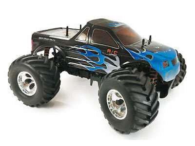RC Monstertruck Bonzer 2008G, 4WD M 1:10 / RTR / 2,4 GHz 60 Km/h inkl Akku