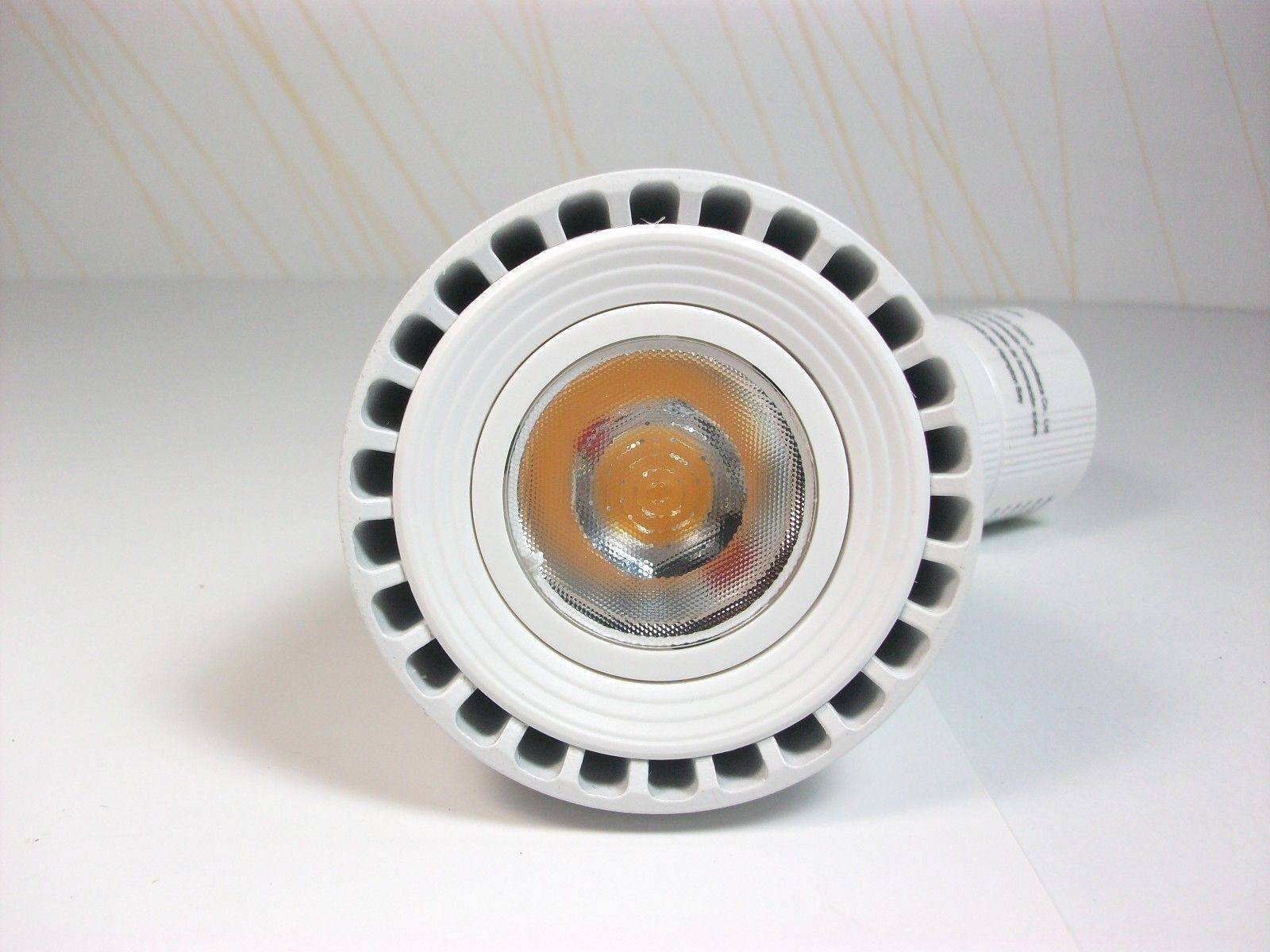 Maximus 3.75 in. White LED Dimmable Track Lighting Spot Head