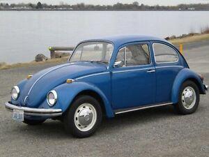 I want a vw  beetle