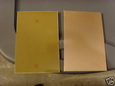 6 Pcs Copper Clad Laminate Pcb Circuit Board Single Sided Fr-4 .060 4 X 6