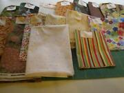 Huge Lot Quilt Fabric