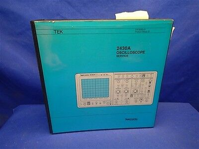 Tektronix 2430a Oscilloscope Service Manual